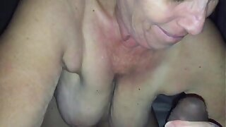 Granny from EpikGranny.com sucks and fucks black cock