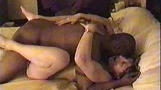 Cheating hotwife Fara forces cuckold husband to watch her taking huge black cock