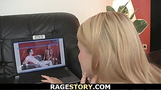Rough banging for Czech blonde girl