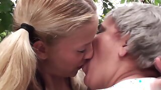 Aged Milfs Have Oral Sex With Teen