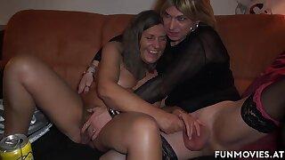 German TV Granny Bondage