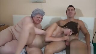 Cubby Granny Wants Some Stiff Penis