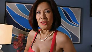 Horny asiatique, scène de mamies xxx