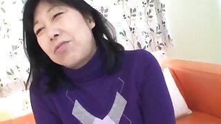 56yr old Taeko Matsukawa Drilled Creampied (Uncensored)