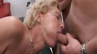 Mature lassies getting boned in every hole they have
