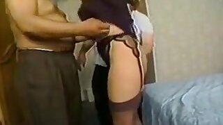 Two Men Take Turns On Womans Ass Then Mini Bukkake