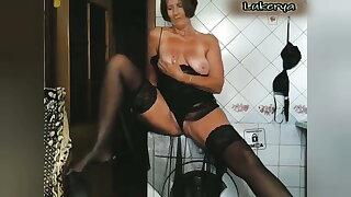 Washing machine striptease