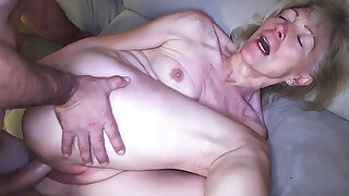 82 years old grandma needs hard cock