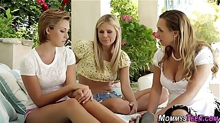 Teens have outdoor 3way