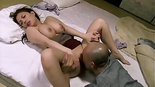 Old Grandpa Fuck Lesson His y. Granddaughter - Spanish