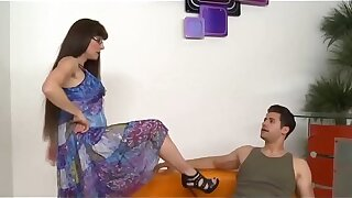 old mom wants to play with a young guy - SONFANTASY.COM