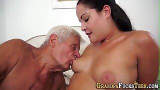Teens vag full of old cum