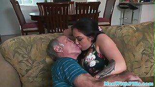 Old men order escort youngster for sex